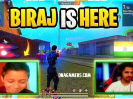 Free Fire Biraj Face Reveal