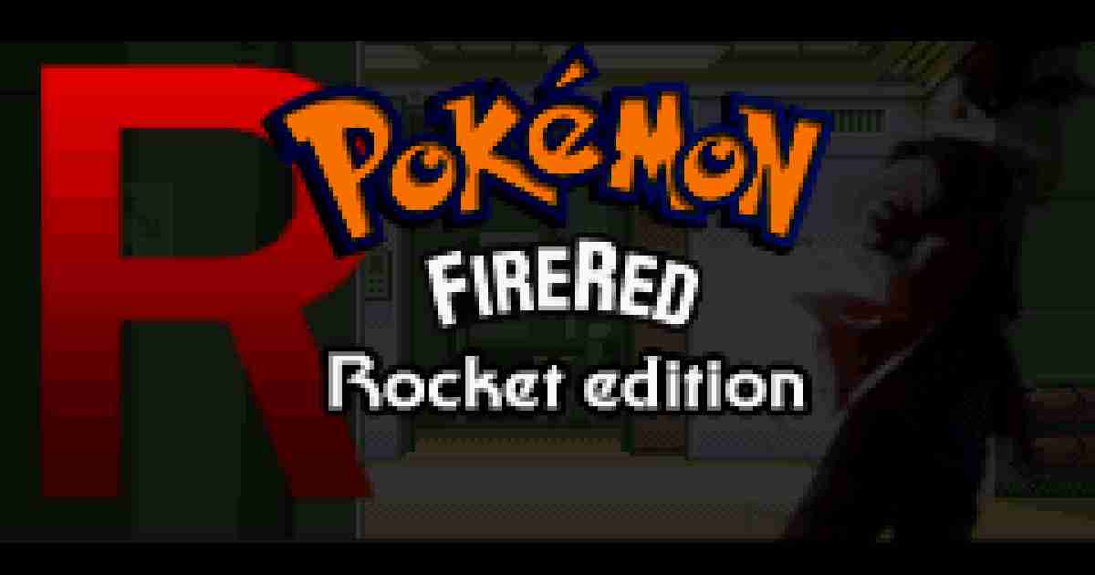 Pokemon FireRed Rocket Edition Rom Download